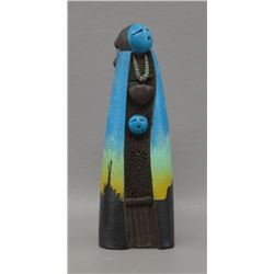 NAVAJO INDIAN POTTERY FIGURE (JOHN C WHITEROCK)