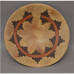 NAVAJO INDIAN POTTERY BOWL (IDA SAHMIE)