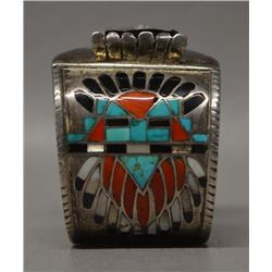 ZUNI INDIAN WATCH BRACELET (FRANK VACIT)