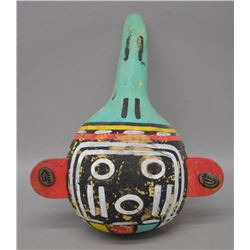HOPI INDIAN GOURD RATTLE