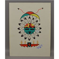 HOPI INDIAN PAINTING (GILBERT A TYMA)