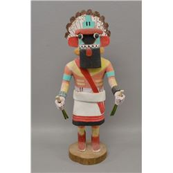 HOPI INDIAN KACHINA ( SHELDON TALAS)