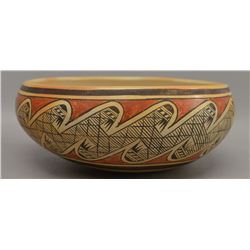 HOPI INDIAN POTTERY BOWL (FANNIE NAMPEYO)