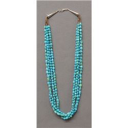 SANTO DOMINGO INDIAN TURQUOISE NECKLACE