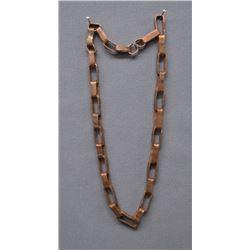 LAGUNA INDIAN COPPER LINK NECKLACE (GREG LEWIS)