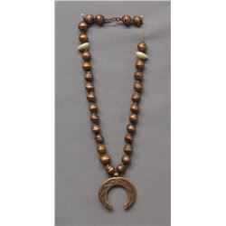 LAGUNA INDIAN COPPER NECKLACE (DYAAMI LEWIS)