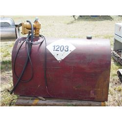 Fuel Tank Slip Tank Used for Diesel with Electric Pump