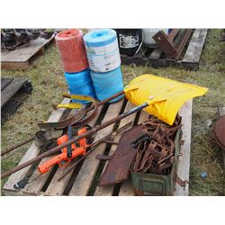 Baler Twine, Snow Scoop, Honeybee Knife Guards and Pick Up Bands