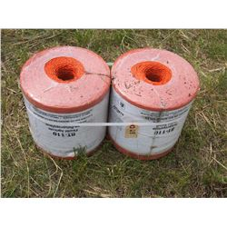2X THE MONEY - New Baler Twine 40,000 Round Baler