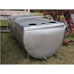 400 US Gallon Stainless Steel Bulk Tank