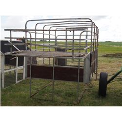 Cattle Hauler for Back of Truck Stock Rack
