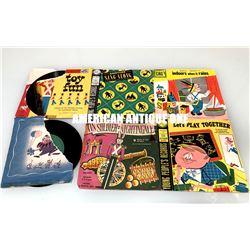 Kids record set Original sleeve set of 6