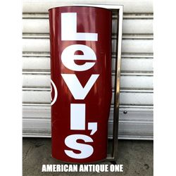 Levi's signboard plastic