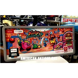 Kirby Battle Royale Nintendo 3DS Advertising Neon