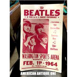 Beatles replica poster