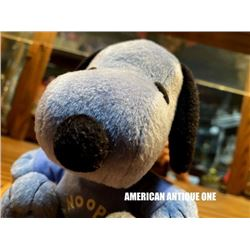 Snoopy / Plush Character Doll Blue