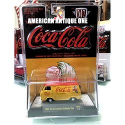 2019 USA Coca-Cola Minicar 1965 Model Ford Econoline Delivery Van