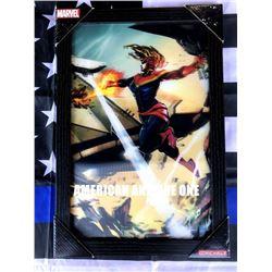 47cm CaptainMarvel Marvel Wooden Sign 3D
