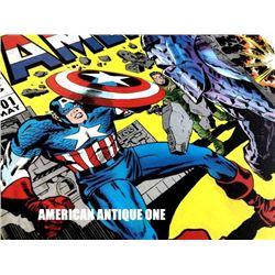 49cm Captain America/Marvel Wooden Sign