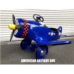 US Navy Airplane Ride On Pedal Car