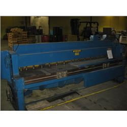 WYSONG and MILES CO 1010 RD 10 GAUGE sn P32-953 SHEAR 600v 3ph