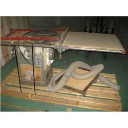 ROCKWELL 115v 1ph TABLE SAW