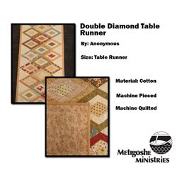 Double Diamond Table Runner