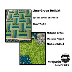 Lime Green Delight Quilt