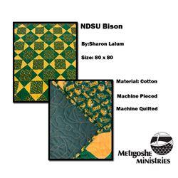 NDSU Bison Quilt