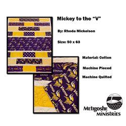"""Mickey to the """"V"""""""