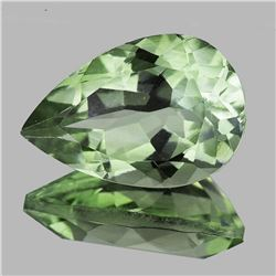 Natural Green Amethyst 12x8 MM [Flawless-VVS]