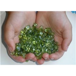Natural Peridot 50 carats - Untreated