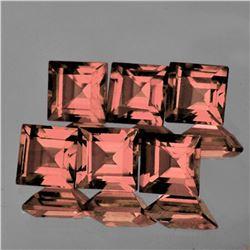 Natural Gold Pink Tourmaline 6 Pcs{Flawless-VVS1}