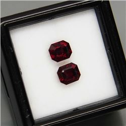 Natural Burma Spinel Pair 5.5 x 5 MM - Untreated