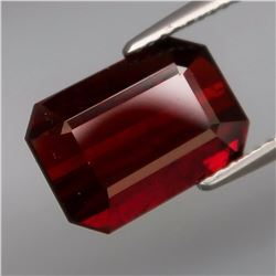 Natural Red Spessartite Garnet 4.95 Cts - Untreated