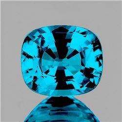 Natural Premium Electric Blue Zircon 4.55 Ct Certified