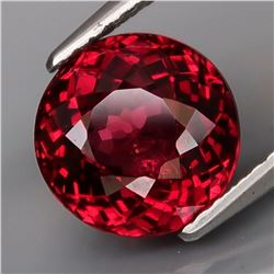 Natural Cherry Red Rhodolite Garnet 3.80 Cts- Untreated