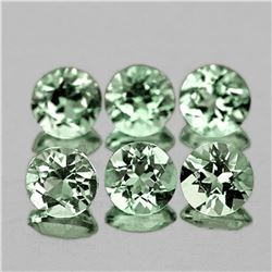 NATURAL BRILLIANT GREEN AQUAMARINE - FLAWLESS