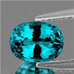 NATURAL PREMIUM AAA ELECTRIC BLUE ZIRCON - FL