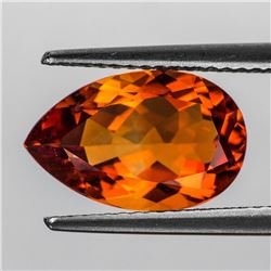 Natural Madeira Orange Citrine 13x8 MM [Flawless-VVS]