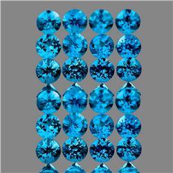 Natural Intense Brazil Paraiba Blue Apatite 30 Pcs