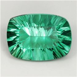 Natural AAA Paraiba Green Blue Fluorite 20x15 MM - IF