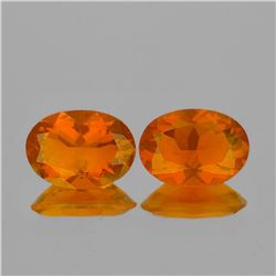 NATURAL INTENSE ORANGE MEXICAN FIRE OPAL - FL