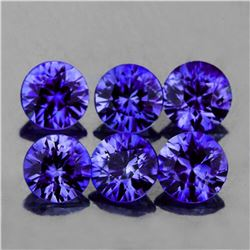 Natural Premium Violet Blue Sapphire 6 Pc Untreated -FL