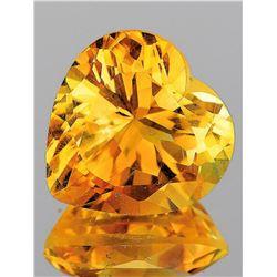 Natural Golden Orange Citrine 11.50 MM [Flawless-VVS]