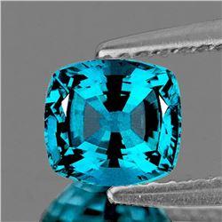 NATURAL ELECTRIC BLUE ZIRCON [FLAWLESS-VVS]