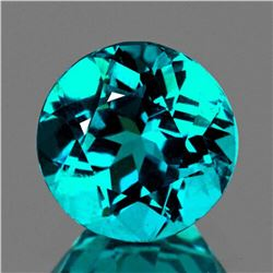 Natural Intense Paraiba Blue Green Apatite (VVS)
