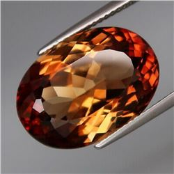 Natural AAA Champagne Imperial Topaz 17.52 Cts