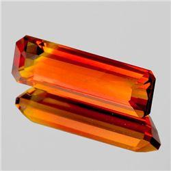 Natural Rare Madeira Orange Citrine [Flawless-VVS]