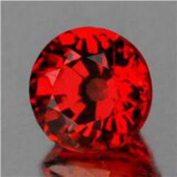 Natural AAA Orange Red Sapphire {Flawless-VVS}